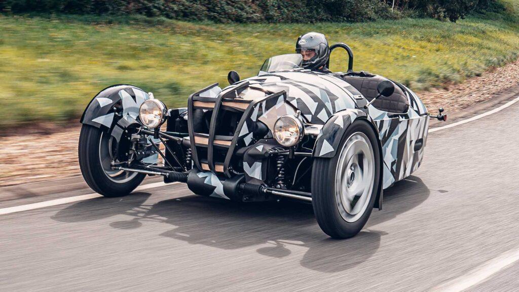 Morgan в 2022 году представит новый 3-х колесный автомобиль