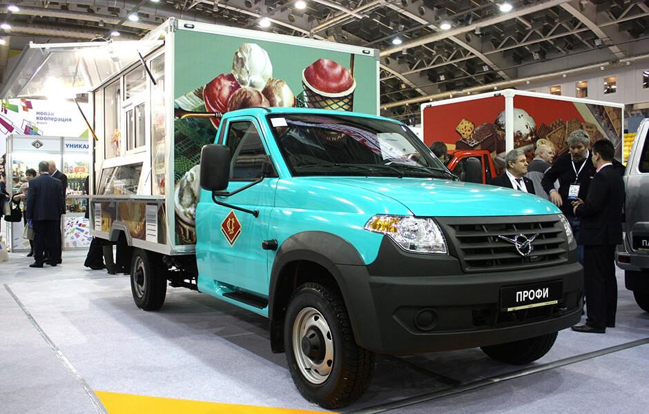 УАЗ представил новые спецверсии автомобилей на базе УАЗ «Профи»