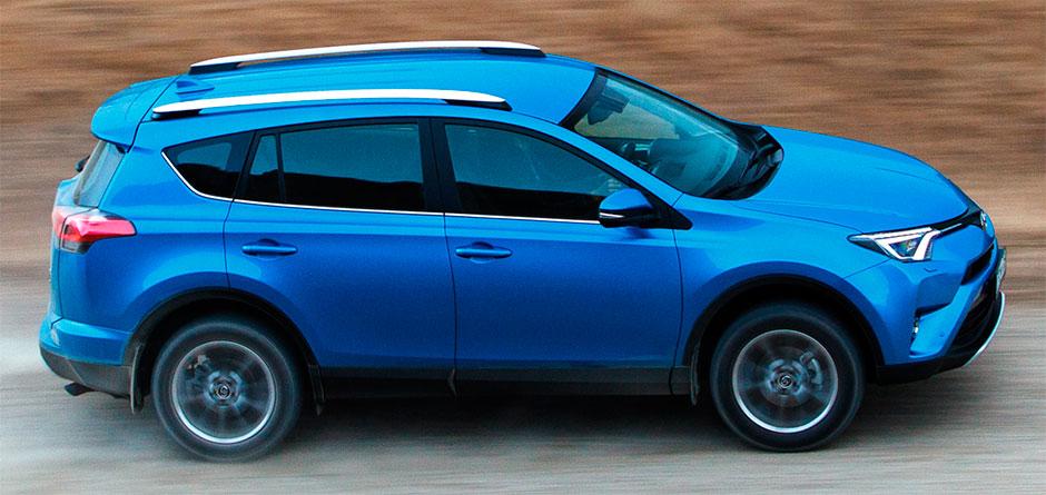 Составлен ТОП-5 самых популярных SUV в России с начала 2017 года