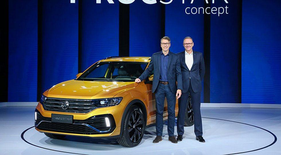 Продажи кроссовера Volkswagen T-Rocstar стартуют в июле 2018 года