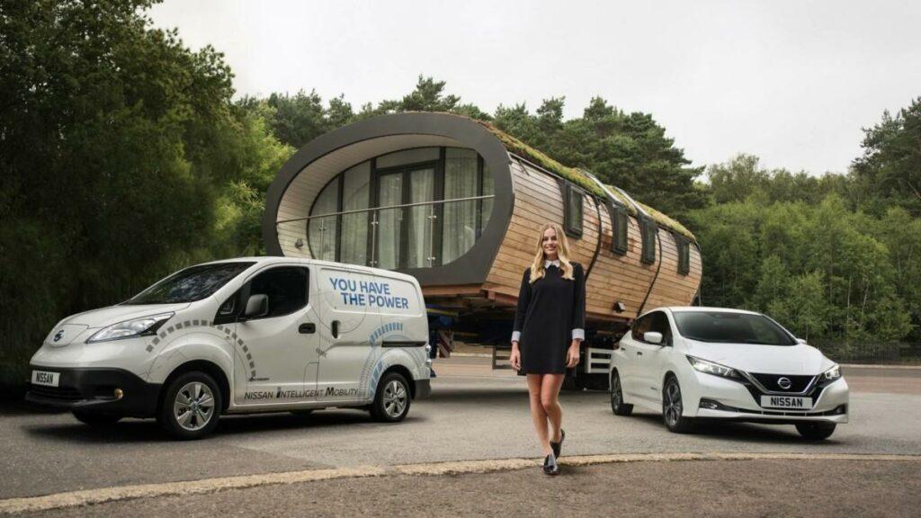 Электромобиль Nissan e-NV200 установил мировой рекорд
