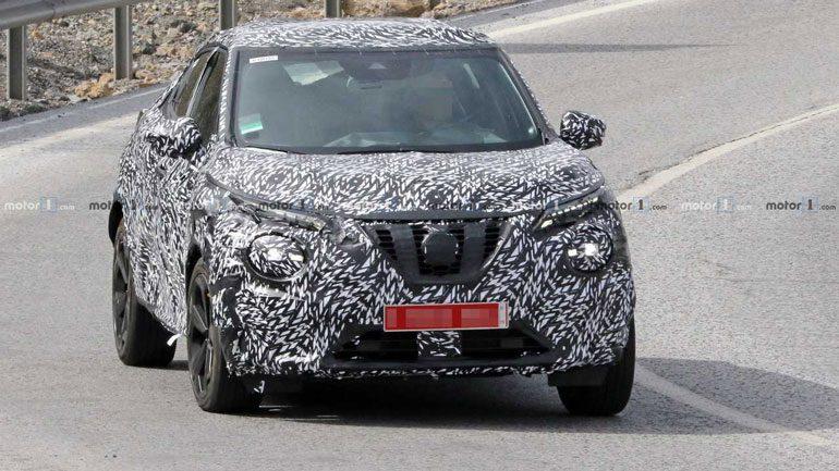 Кроссовер Nissan Juke второго поколения замечен на тестах
