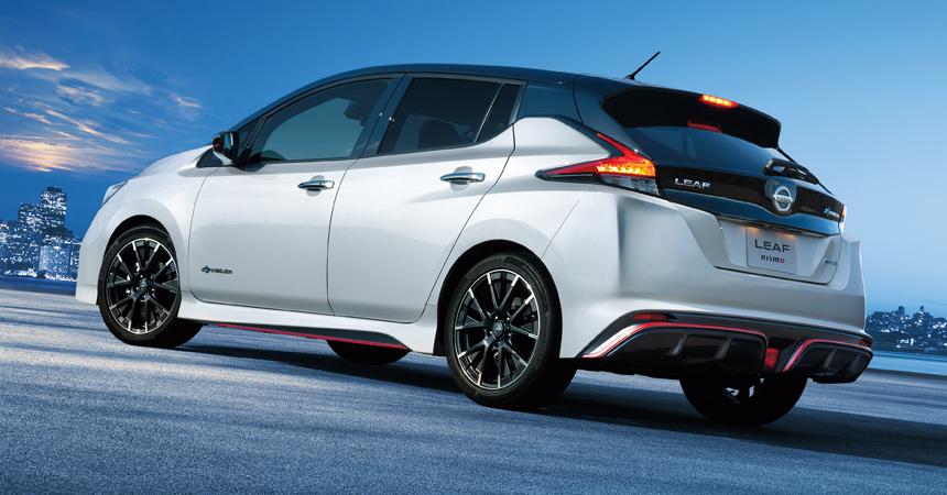 Спортивный электрокар Nissan Leaf Nismo стал серийным