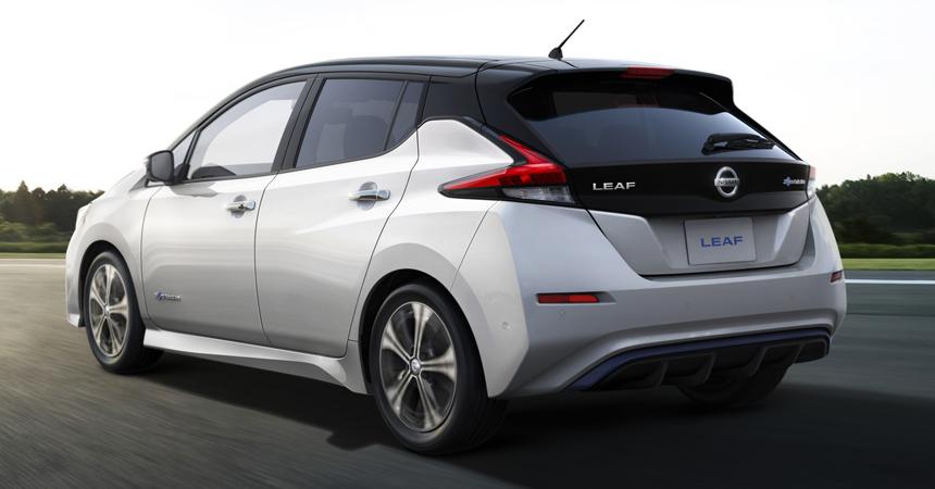 Стартовало серийное производство нового поколения Nissan Leaf