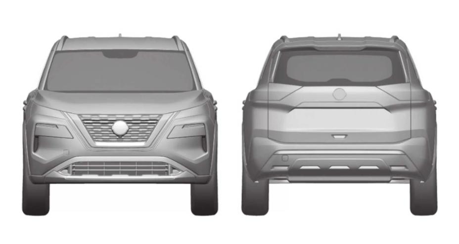 На патентных изображениях раскрыт новый Nissan X-Trail