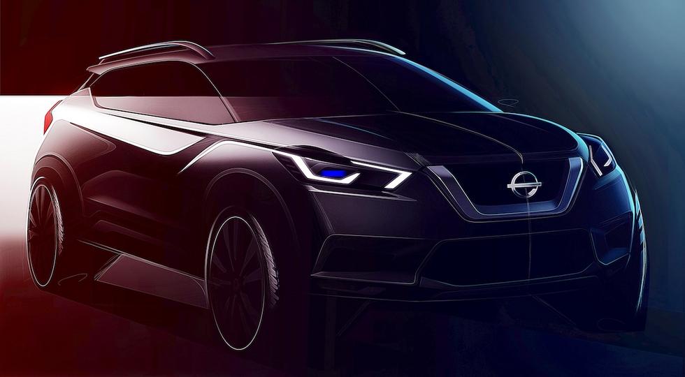Кроссовер Nissan Kicks на базе Renault Duster дебютирует 28 октября
