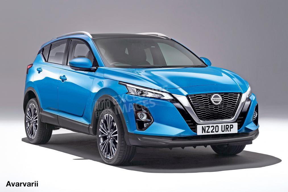Новый кроссовер Nissan Qashqai представят уже в 2020 году