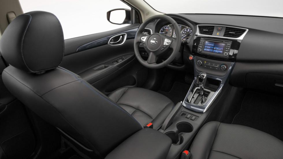 Стартовали продажи обновлённого седана Nissan Sentra 2018