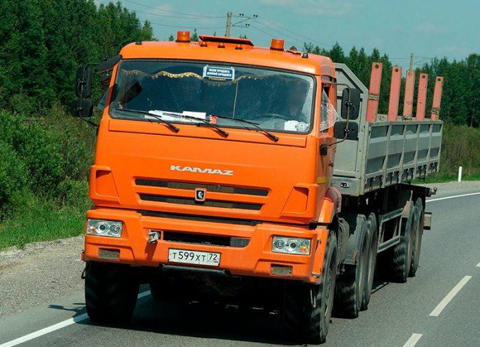 Обзор и технические характеристики седельного тягача Камаз-53504
