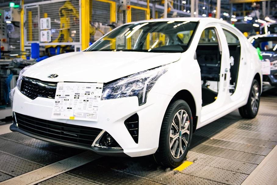 В Петербурге началось производство обновлённого автомобиля Kia Rio