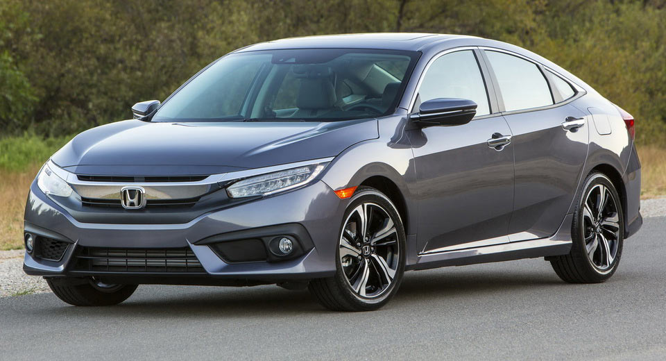 Honda объявила стоимость нового седана Honda Civic 2018 модельного года