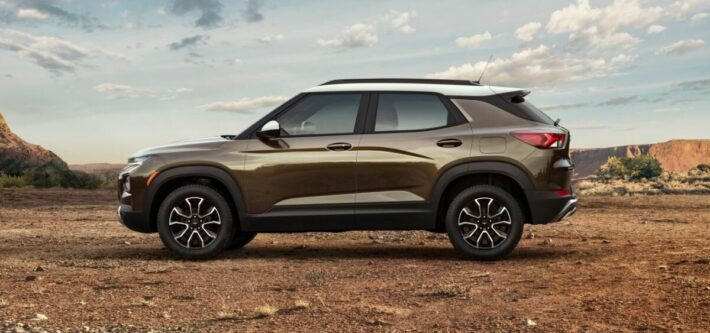 Chevrolet начала прием заказов в РФ на кроссовер Trailblazer нового поколения