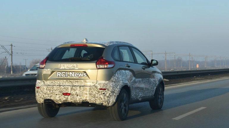 Прототип Cross-версии LADA XRay был замечен на дорогах Тольятти