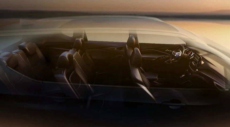 Chevrolet показала новый кроссовер Orlando на «живых» фото