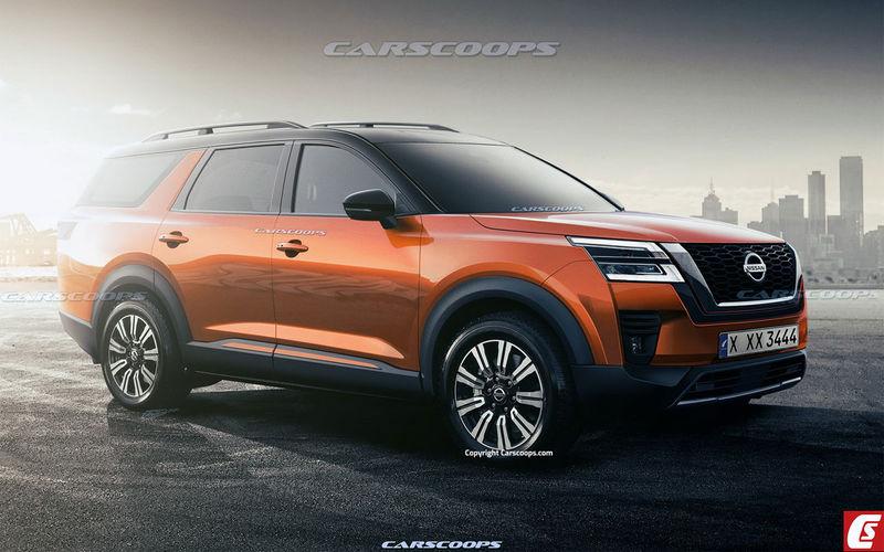 Новый Nissan Pathfinder показали на изображении