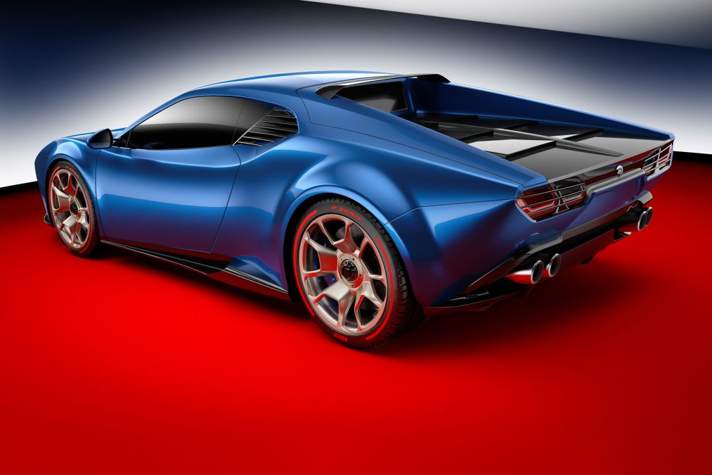 Ares Design представила суперкар Ares Panther со складными фарами