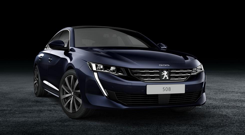 Peugeot привезет в РФ дизельный Peugeot 508 в кузове лифтбек