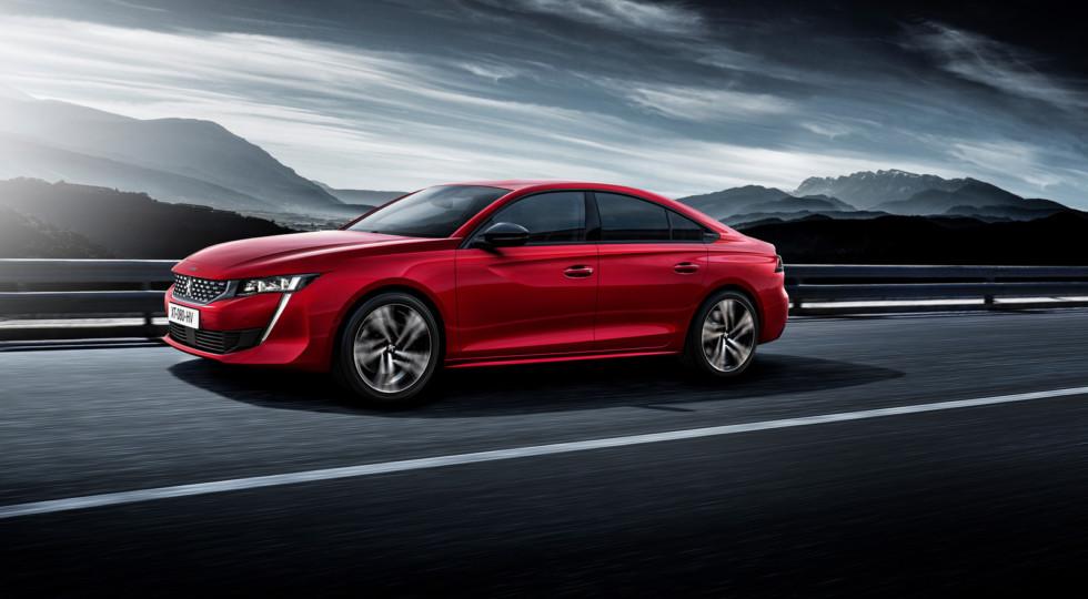 Новое поколение Peugeot 508 получит «заряженную» версию GTi