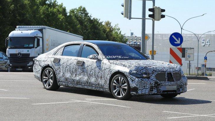 Новый Mercedes-Benz S-Class получит только гибридные модификации