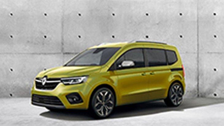 Новый Renault Kangoo рассекретили на первом официальном фото