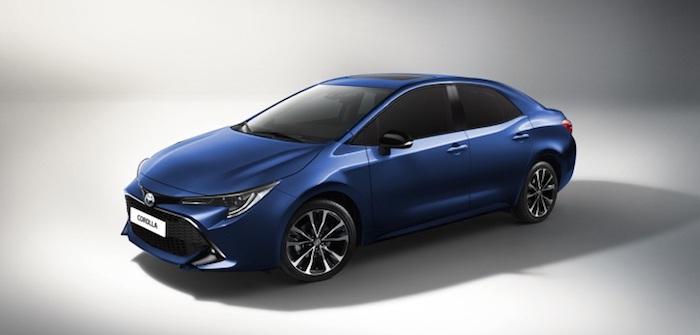 В Сети опубликовали первые изображения новой Toyota Corolla