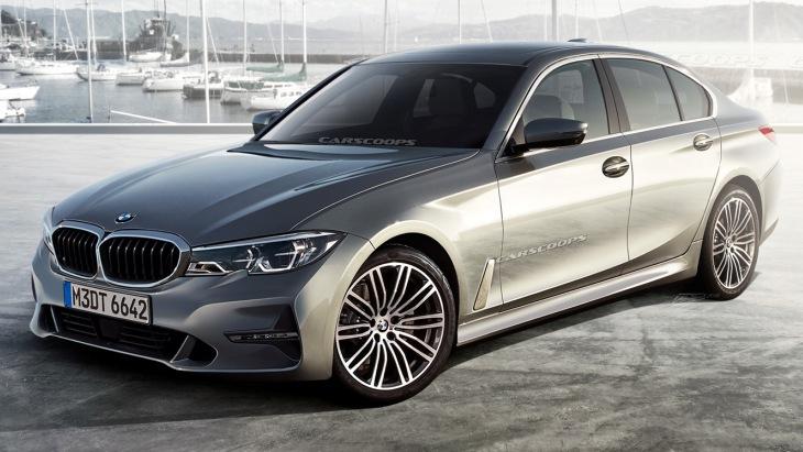 Появились первые изображения нового седана BMW 3-Series G20