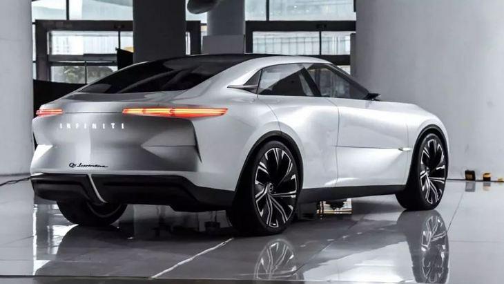 Электрический седан Infiniti рассекречен до премьеры