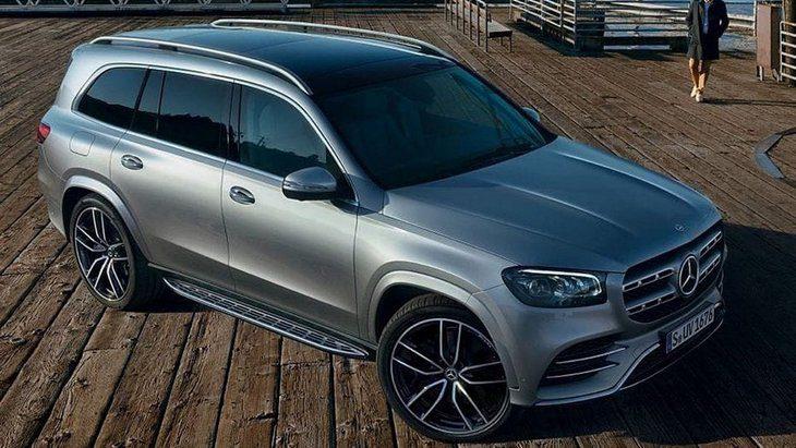 Новый Mercedes-Benz GLS рассекречен до премьеры