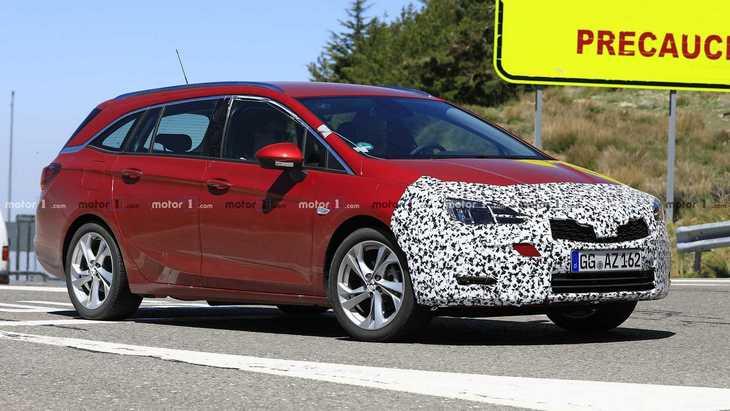 Универсал Opel Astra получит новый дизельный двигатель