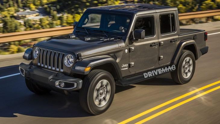 Jeep начнет продажи нового пикапа Jeep Wrangler в апреле 2019 года