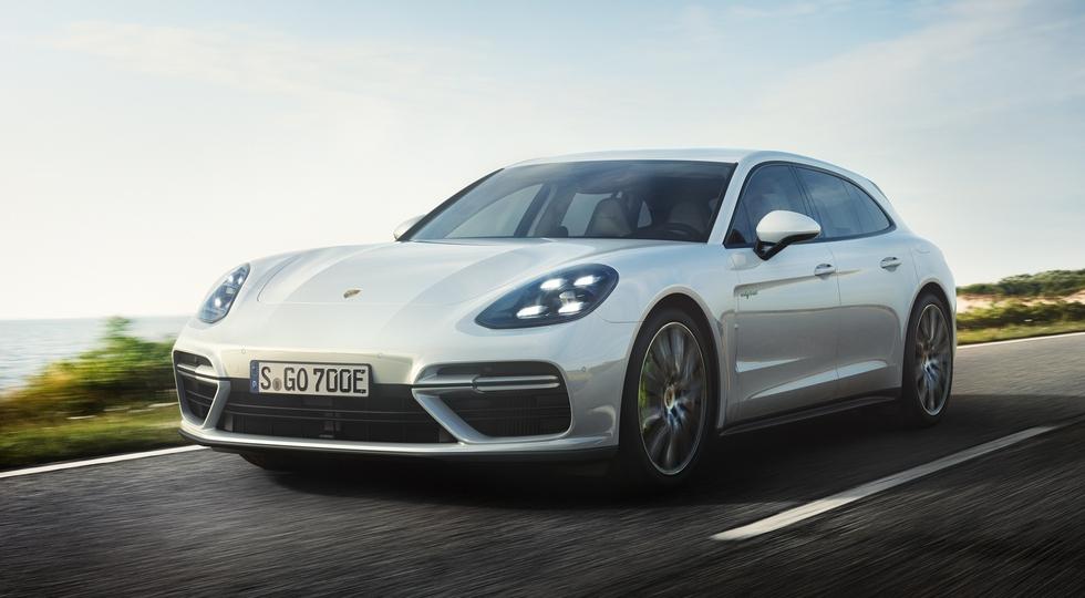 Porsche назвал рублевые цены на новый Panamera Turbo S E-Hybrid Sport Turismo