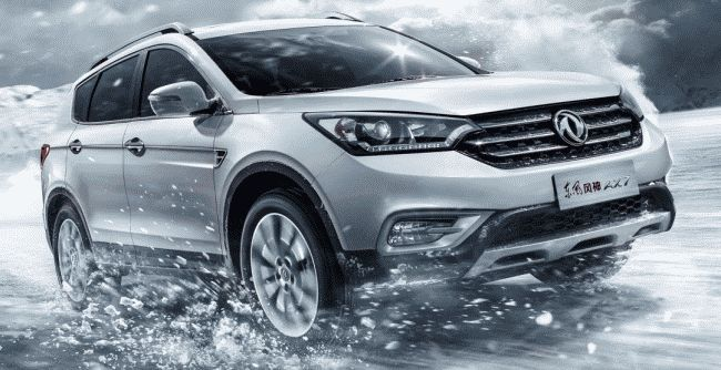 Dongfeng обновил кроссовер AX7
