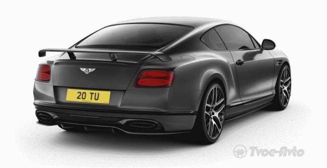 Bentley представил 700-сильный Bentley Continental Supersports 2017