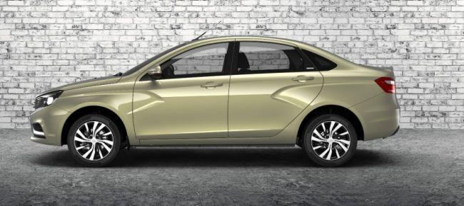 Lada Vesta Exclusive с новым цветом «Карфаген» получила ценник