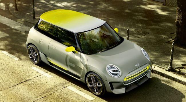 MINI рассекретила новый электрокар MINI Electric Concept
