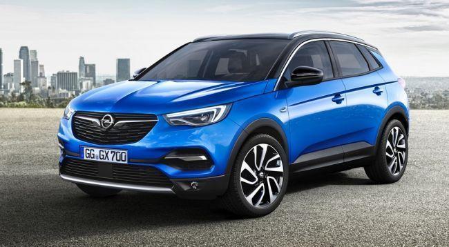 Opel привёз во Франкфурт новый большой кроссовер Grandland X