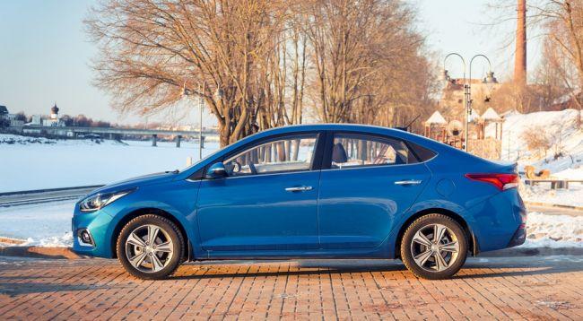 Hyundai Solaris в РФ стал стоить дороже на 20 тысяч рублей