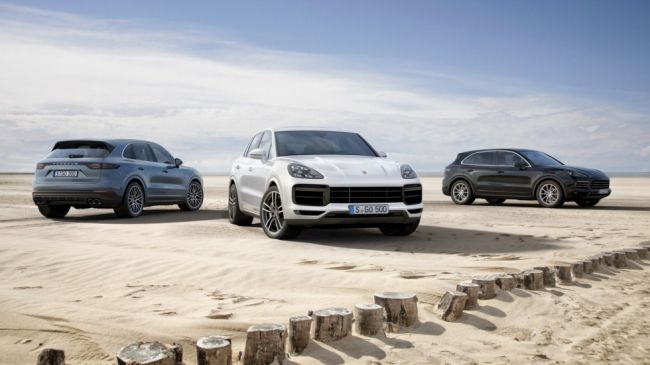 Porsche рассекретила топ-модификацию нового Porsche Cayenne