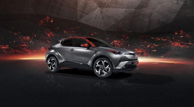 Во Франкфурте дебютировала новая версия кроссовера Toyota C-HR