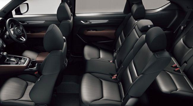 Mazda официально представила новый трехрядный кроссовер CX-8