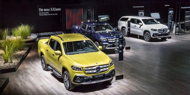 Вице-президент BMW назвал новый пикап Mercedes-Benz X-Class «ужасным»