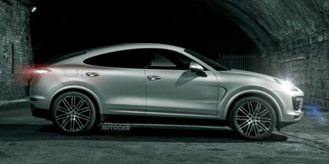 Porsche Cayenne в будущем получит версию кросс-купе
