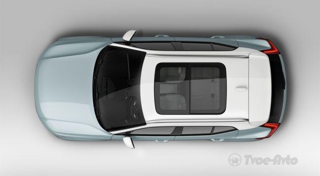 Volvo презентовала свой первый компактный кроссовер XC40