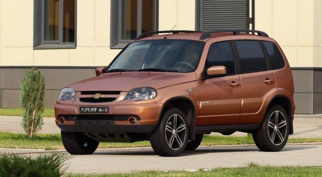 Внедорожник Chevrolet NIVA в России получил юбилейную спецверсию