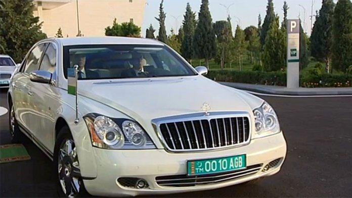 25 бронированных Mercedes-Benz продает президент Туркменистана