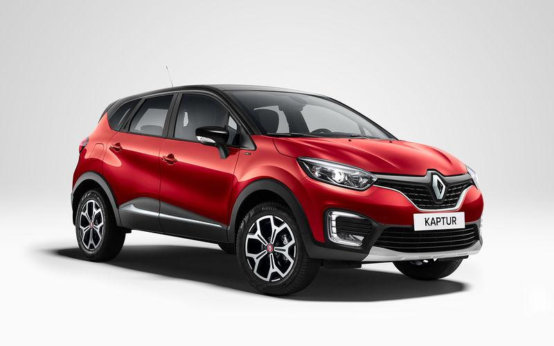 Renault Kaptur получил новую лимитированную спецверсию Kaptur PLAY