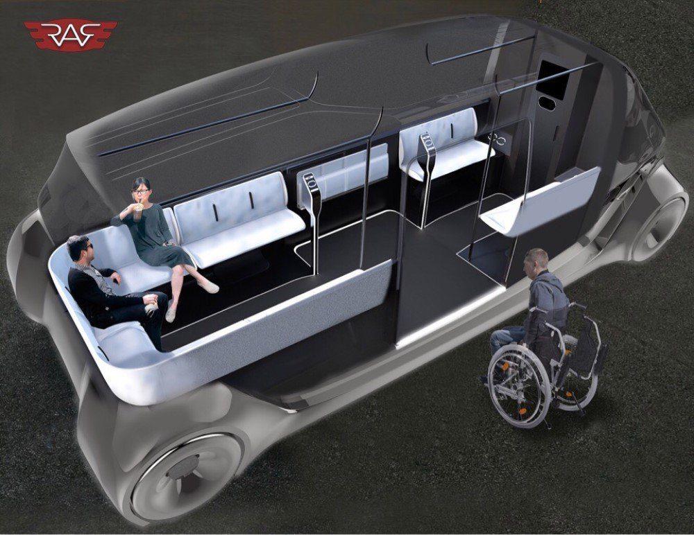 Появились первые изображения возрожденного микроавтобуса РАФ