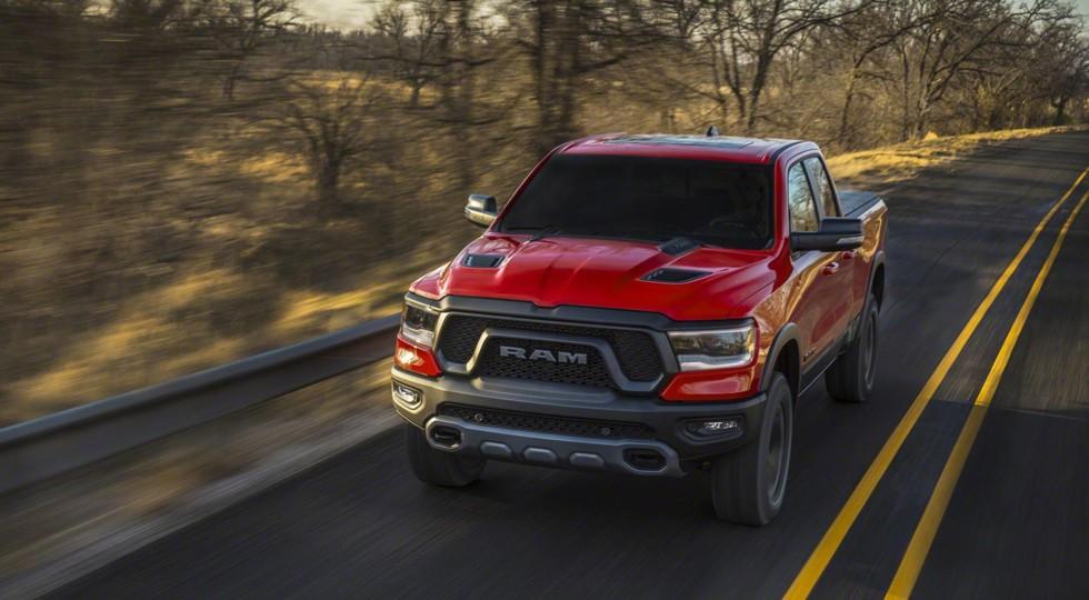 Пикап Ram 1500 нового поколения дебютировал в Детройте