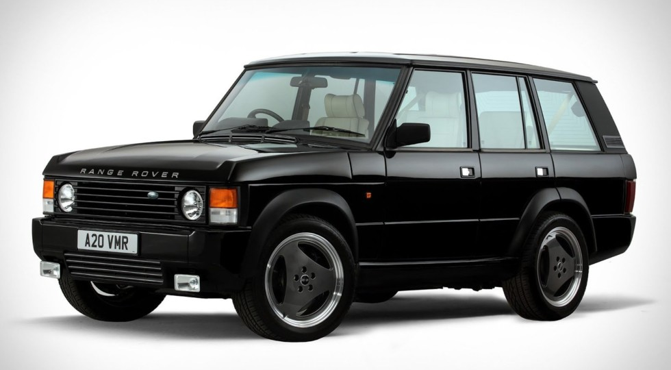 Традиционный Range Rover Chieftain— сдвигателем от«заряженного» Кадиллака