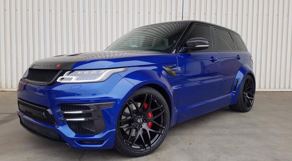 Внедорожник Range Rover Sport SVR получил новую версию от Lumma Design